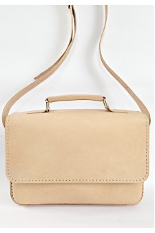 EDESSA NATURAL SATCHEL BAG