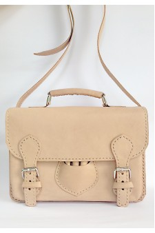 VERIA NATURAL SATCHEL BAG
