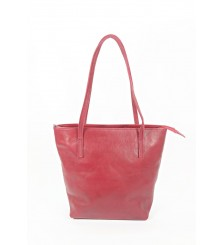 LUCCA RED SHOPPER