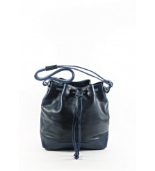 CALIBRIA BLUE BUCKET BAG