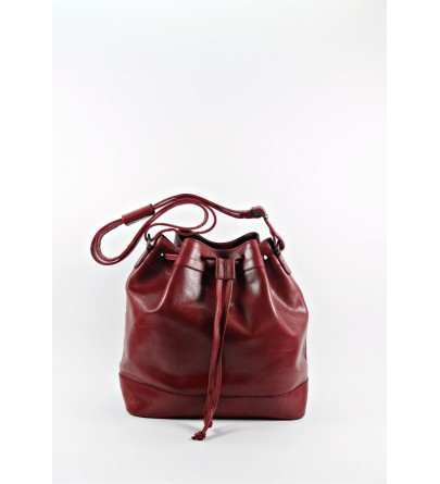 CALIBRIA RED BUCKET BAG