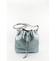 CALIBRIA SILVER BUCKET BAG