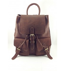 CHAD CHESTNUT BROWN RUCKSACK