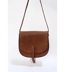 CATANIA SADDLE BAG CHOCO